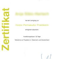 Abschluss zum Holzer Permakultur Praktiker(in)